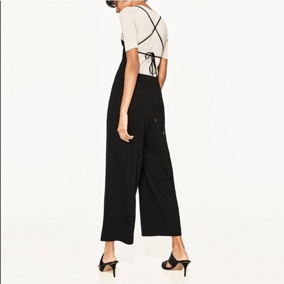 Zara Pants - NWT Zara Strappy Tie Back Jumpsuit